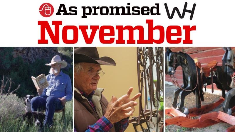 November 2019 western horseman magazine promised content