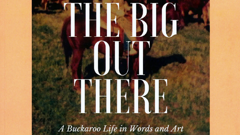 The Big Out There book by Brenda Negri is about buckaroo life.