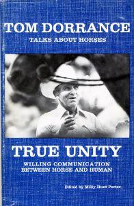 """Tom Dorrance's book cover for """"True Unity"""""""