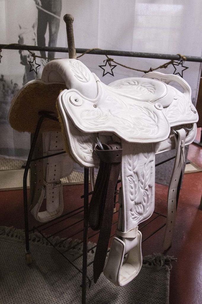Veach Saddlery makes trick saddles