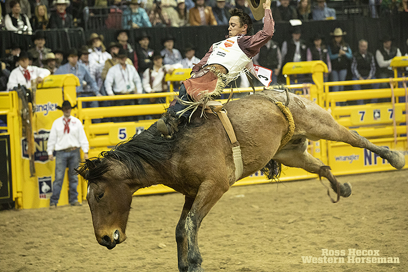Clayton Biglow won five go-rounds at the NFR.