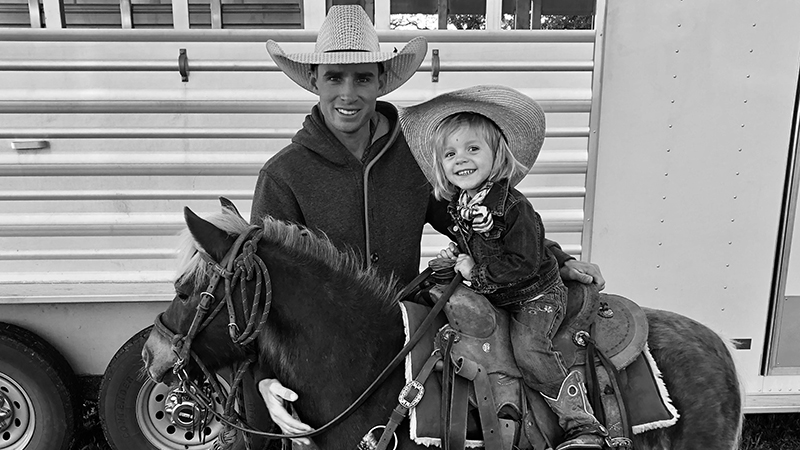 The Neubert family had to say goodbye to their daughter's beloved pony.