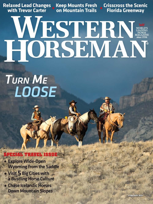 Western Horseman magazine February 2020 cover