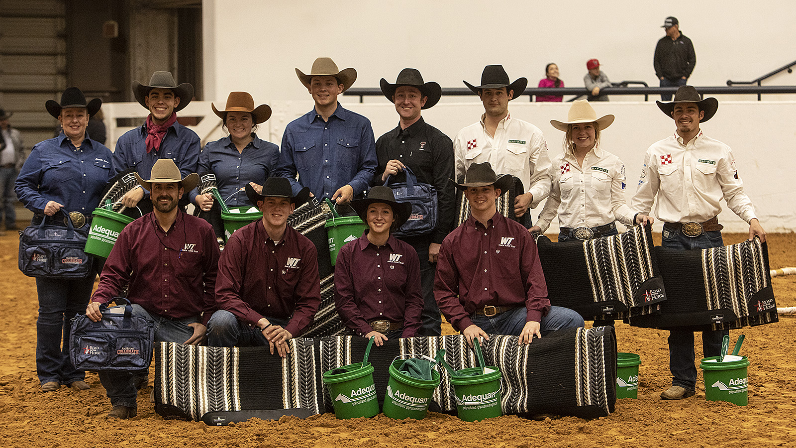 North Central Texas College wins the Road to the Horse Collegiate Colt Starting Challenge.