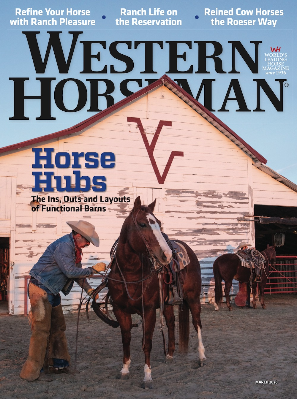 Western Horseman magazine March 2020 cover