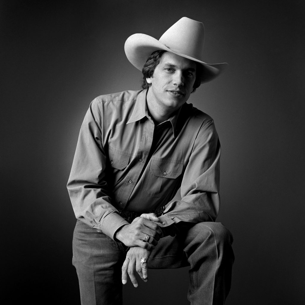 George Strait stands for a portrait taken by Jim McGuire.