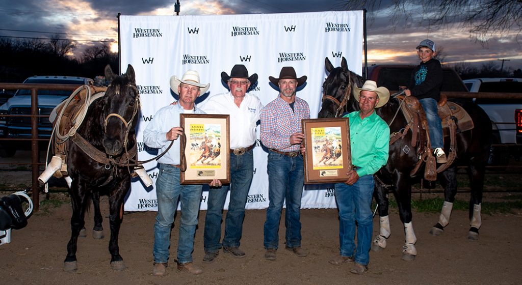 The top head and heel horses at the Western Horseman Sunshine Classic.
