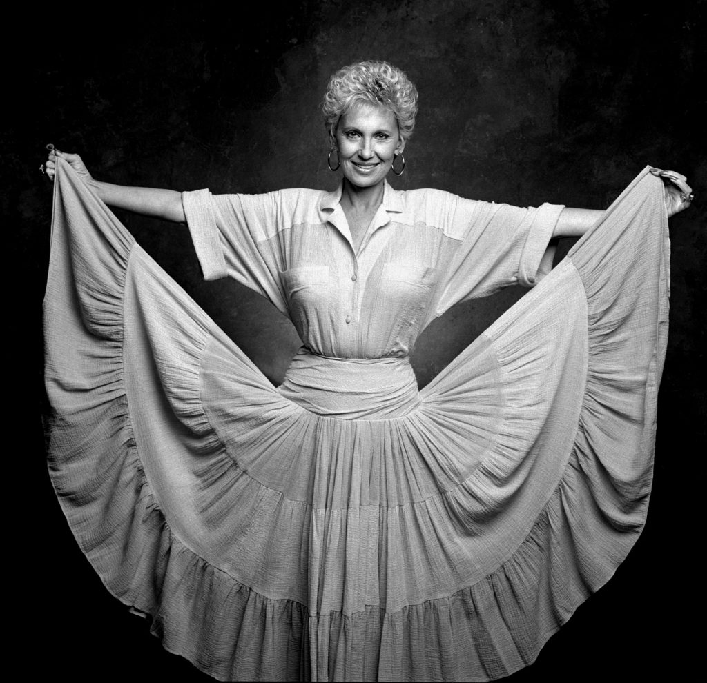 Jim McGuire took a portrait of country singer Tammy Wynette.