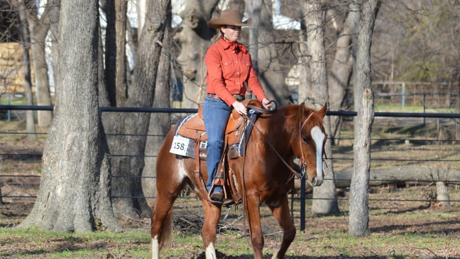 A ranch horse isolation show takes into social distancing into consideration.