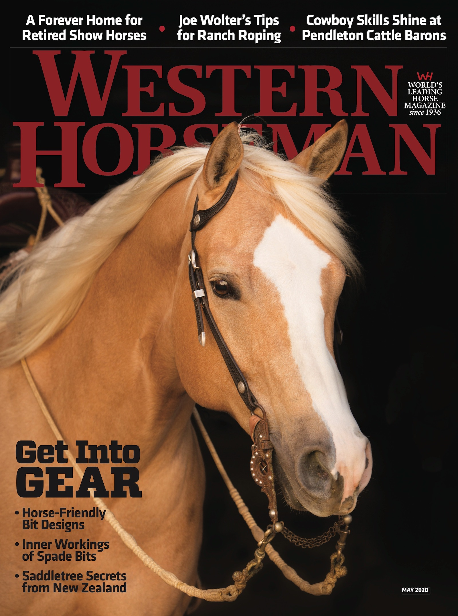Western Horseman magazine May 2020 cover
