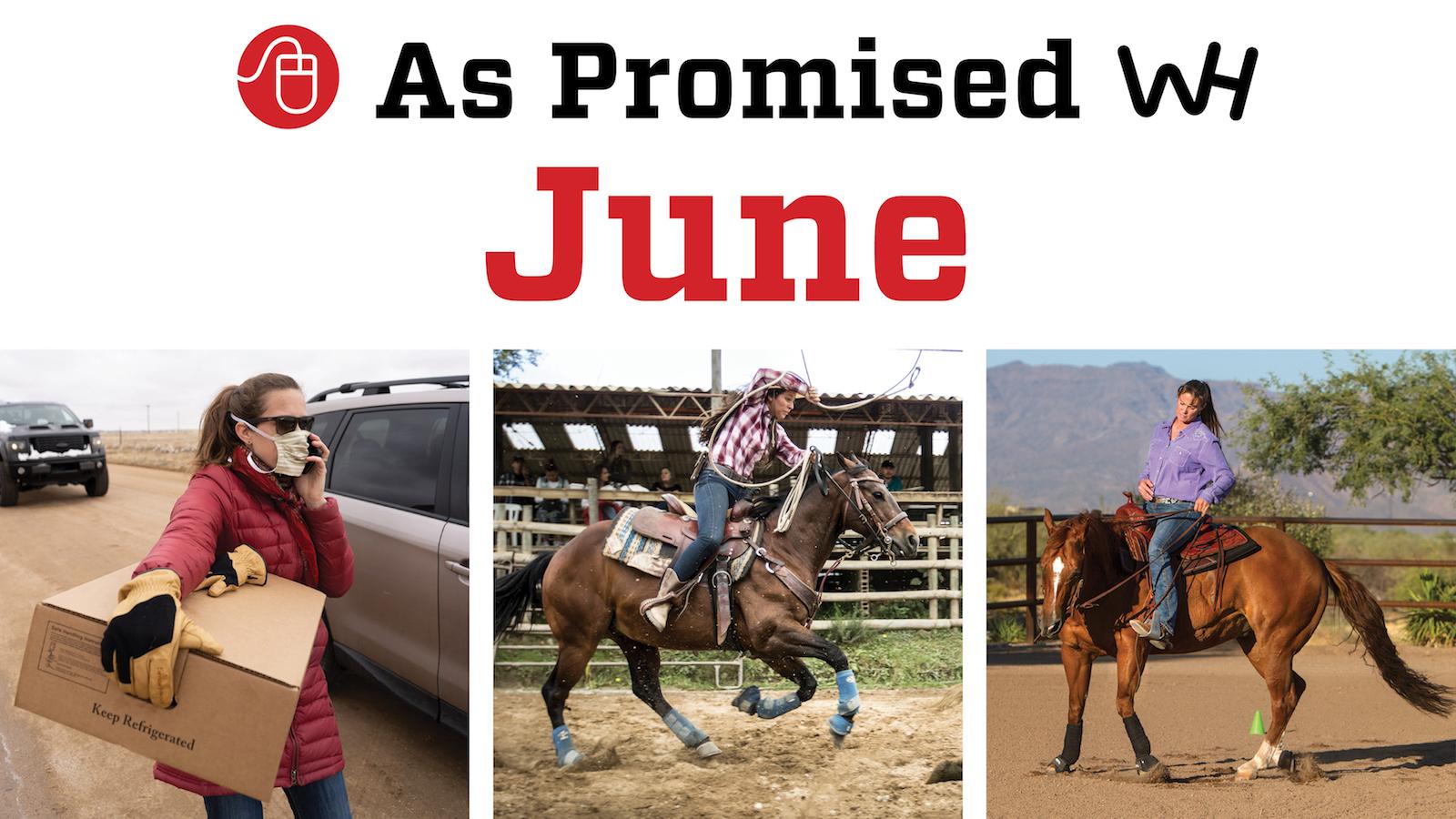 western horseman magazine june 2020 promised content
