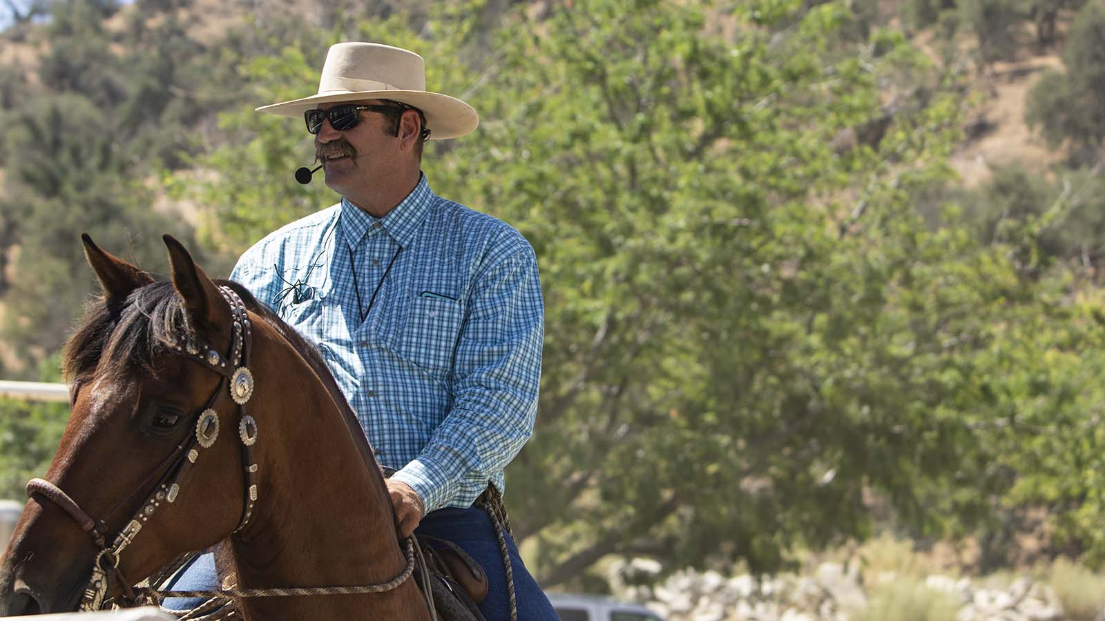 Bruce Sandifer says to go slow when teaching a horse to neck rein.