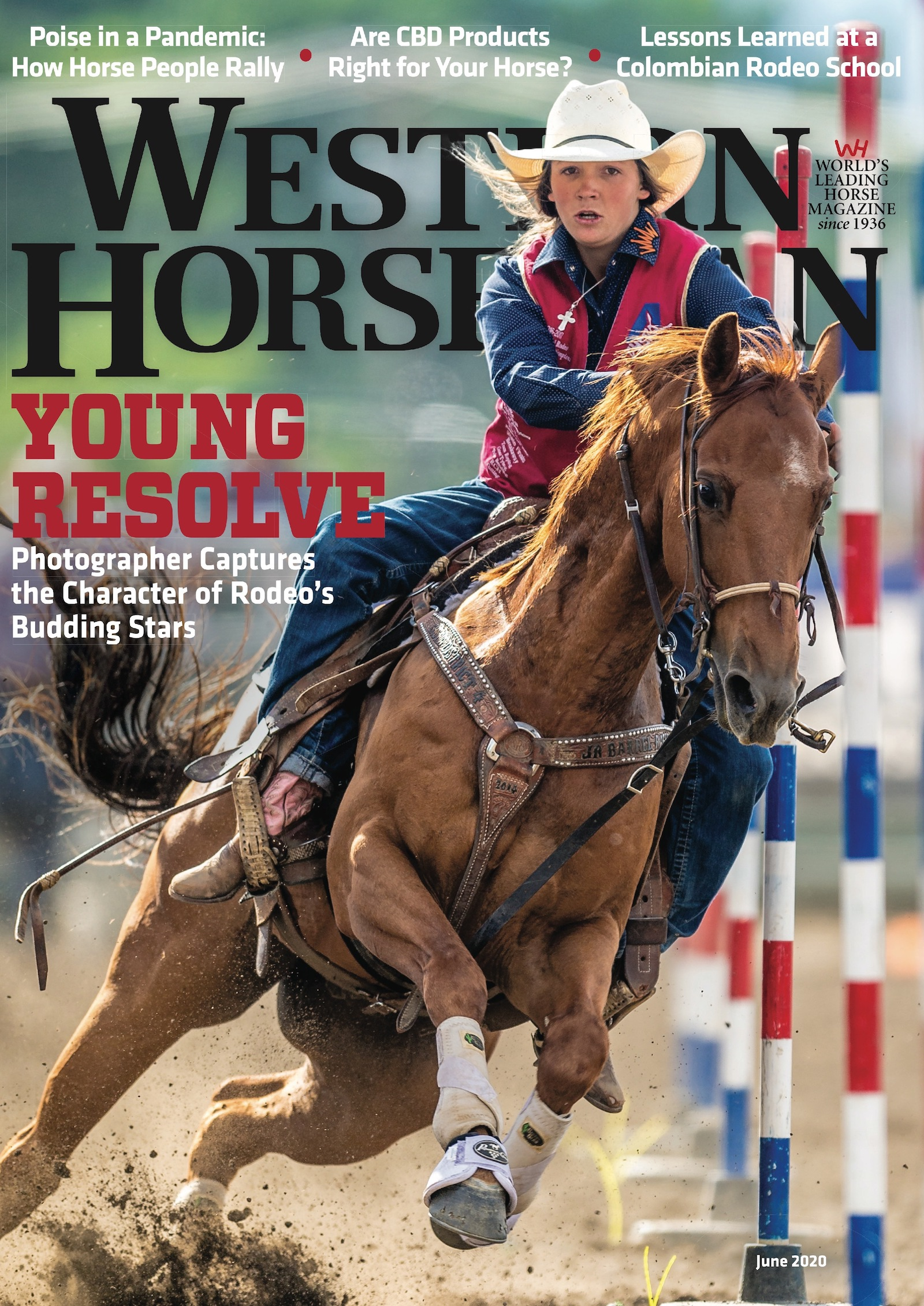 Western Horseman magazine June 2020 cover