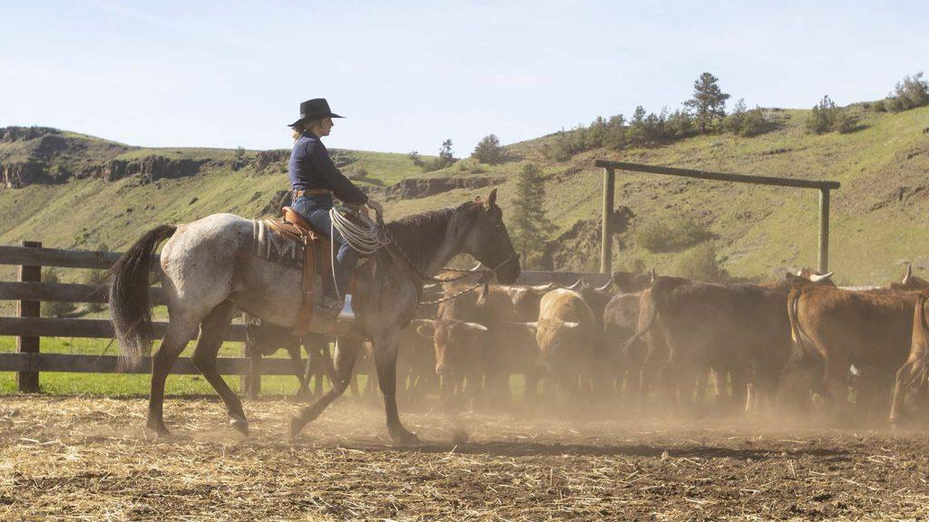 Adele Schott ranches in Oregon