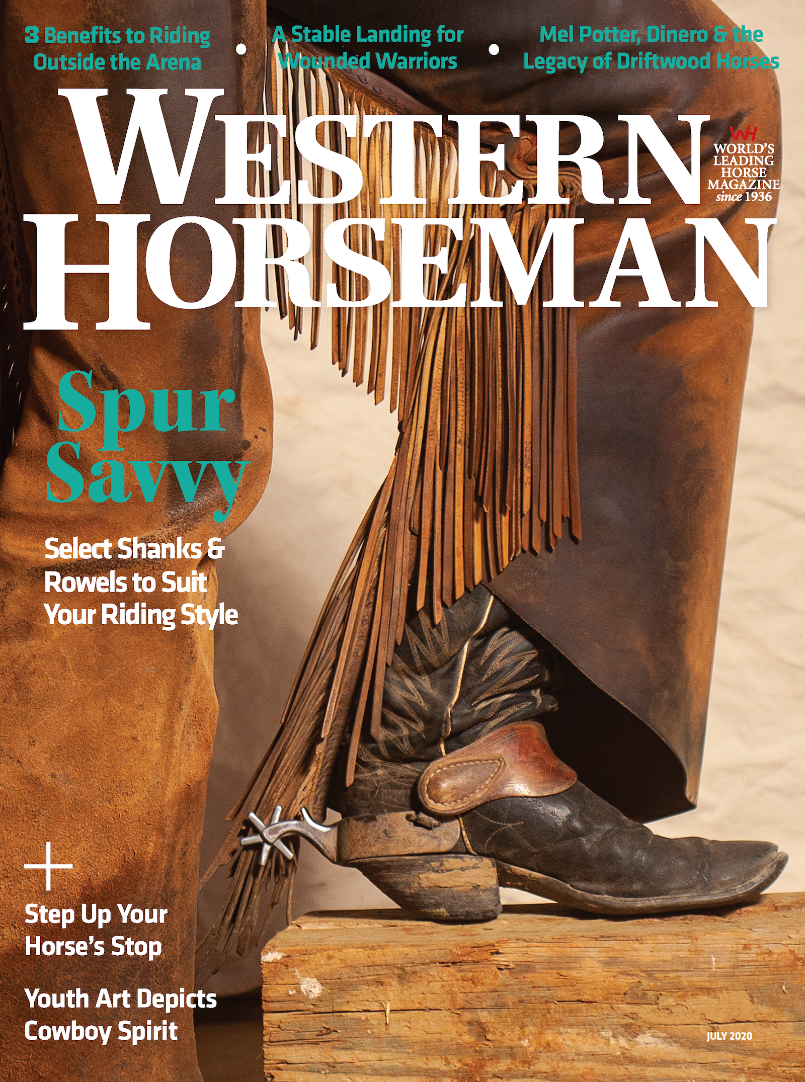 Western Horseman magazine July 2020 cover