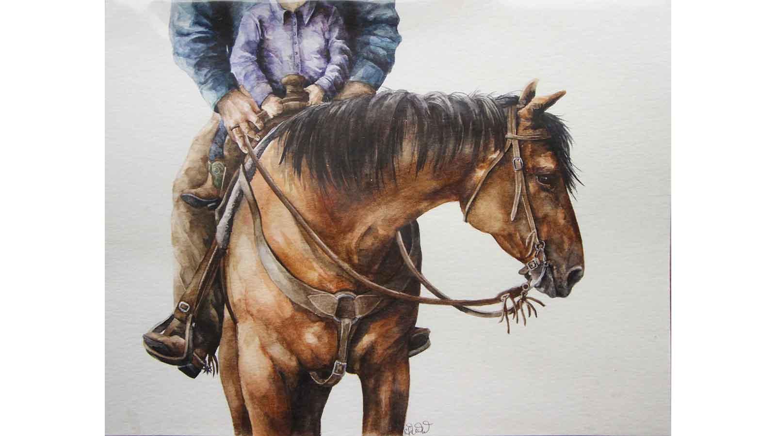 Raising a Cowboy by Emma Vand de Voort