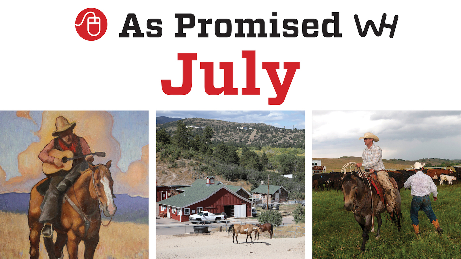 promised content july 2020 Western Horseman magazine