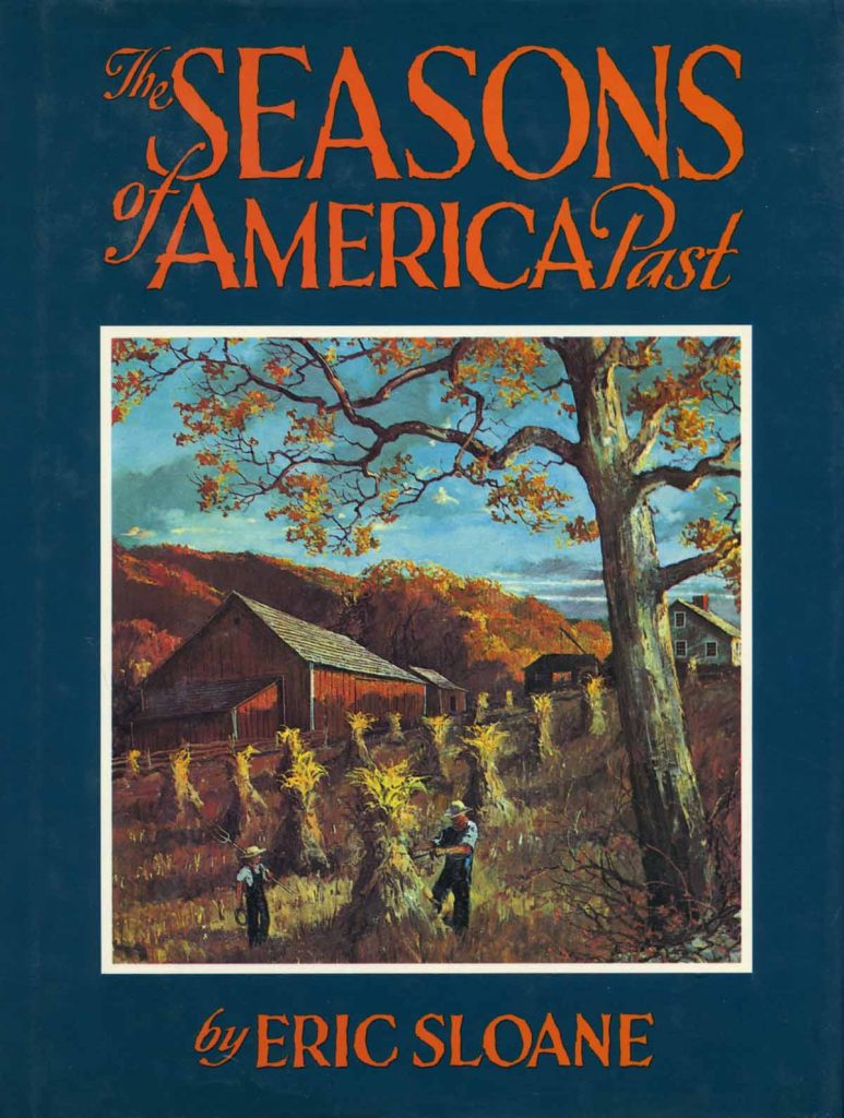 "Eric Sloane book cover ""The Seasons of America Past"""