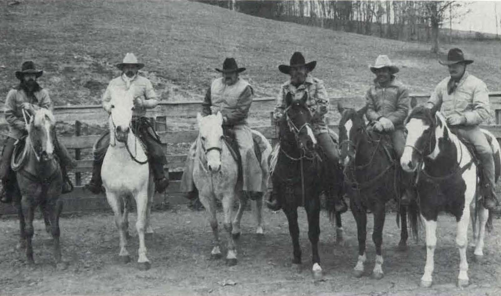 cowboys of the Twin Pines Ranch