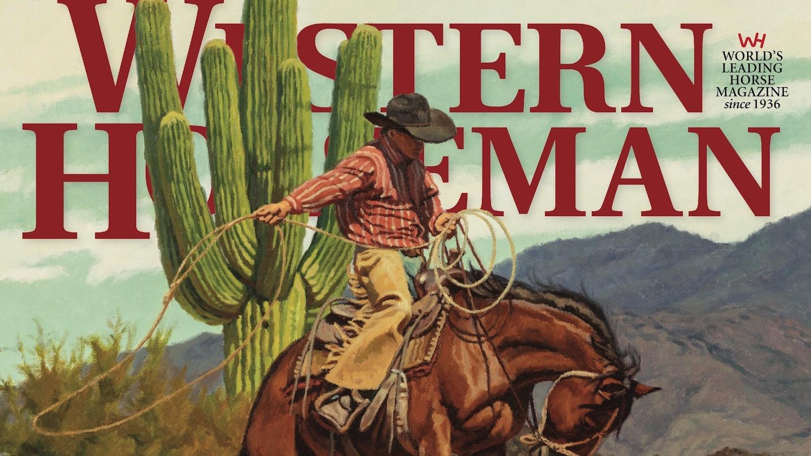 Western Horseman magazine September 2020 cover snippet