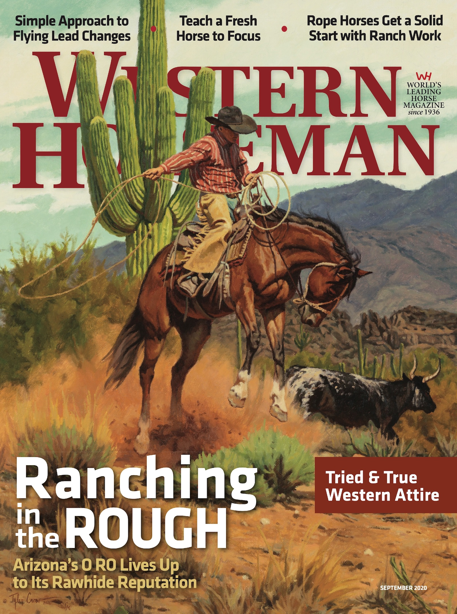 Western Horseman magazine September 2020 cover