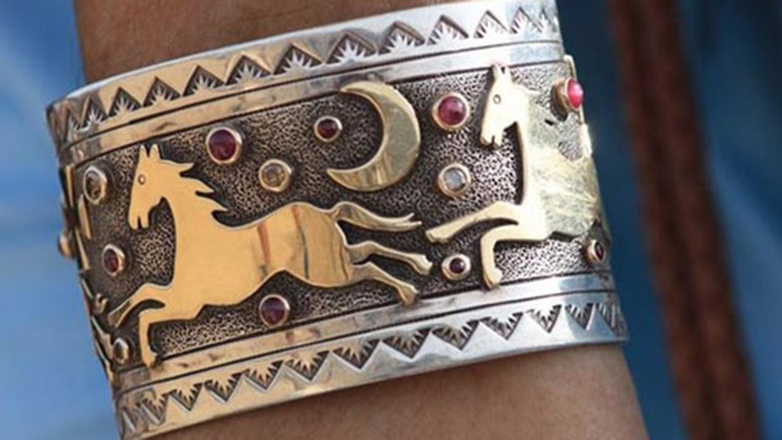 Horse story bracelet