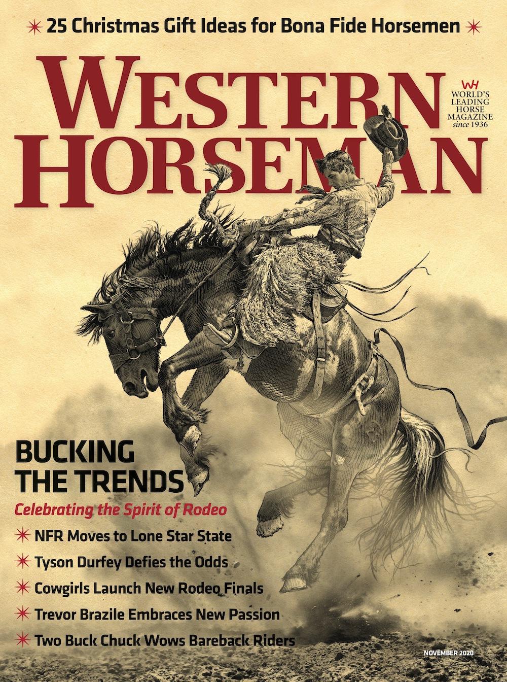 November 2020 Western Horseman cover