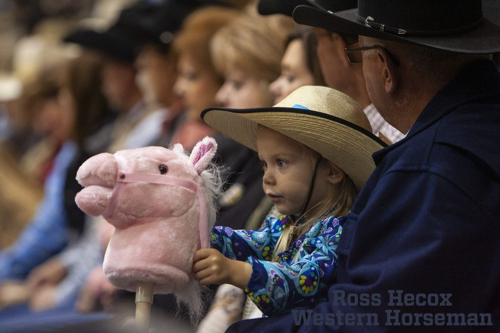young cowgirl at WRCA ranch rodeo