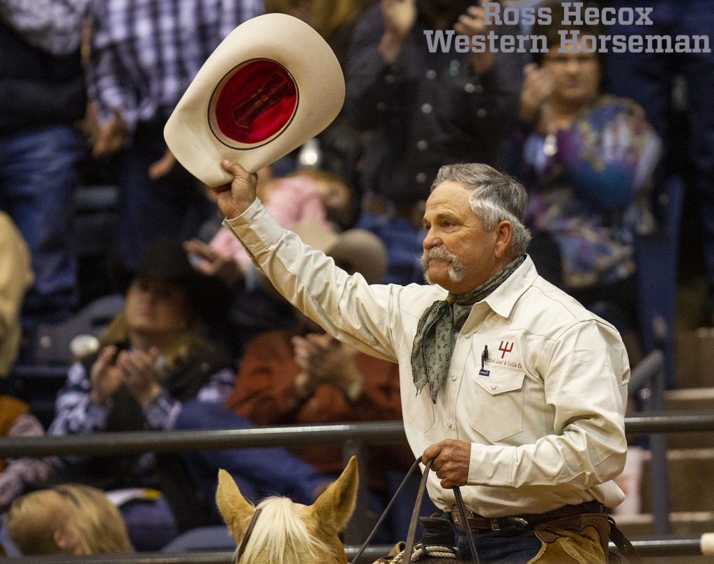 James Gholson tips his hat