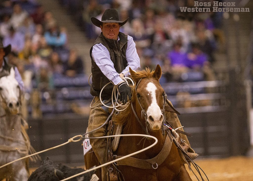 Zach burson ropes in ranch rodeo