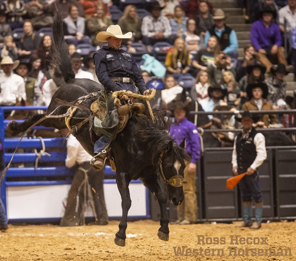 Justin Peterson won the WRCA top hand award