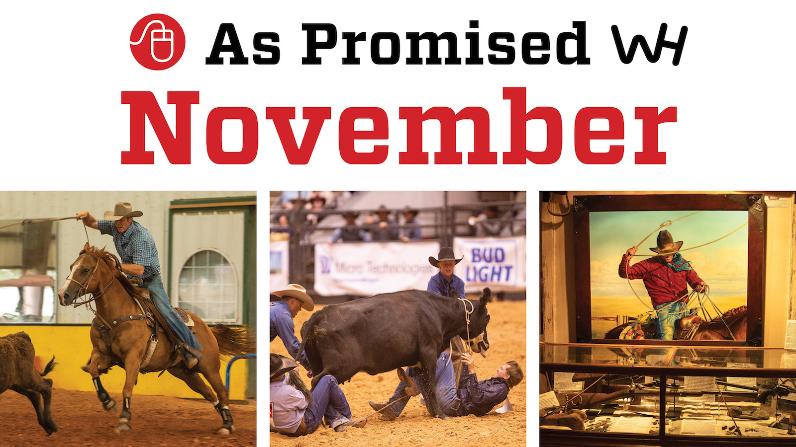 November 2020 Western Horseman promised online content