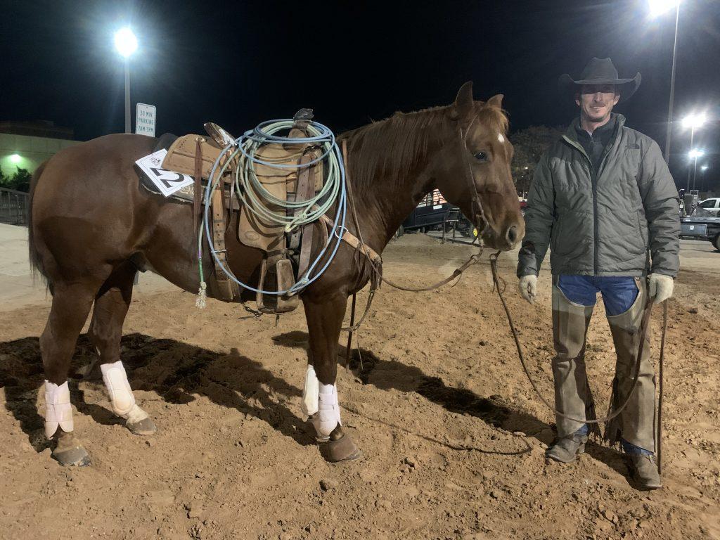 WRCA Top Horse contender Thomas E Cayenne