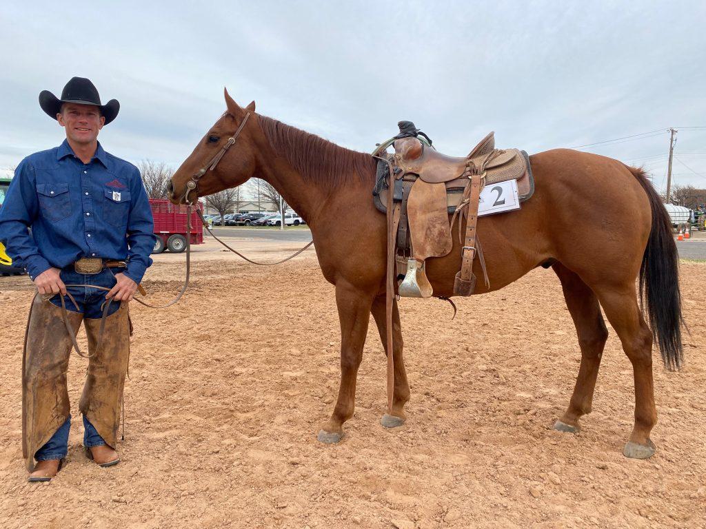 WRCA Top Horse contender Frosty