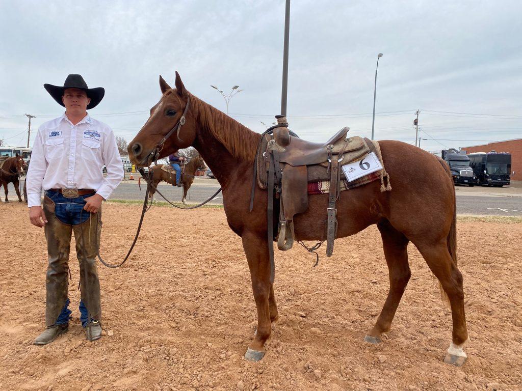 WRCA Top Horse contender Ty Swiler