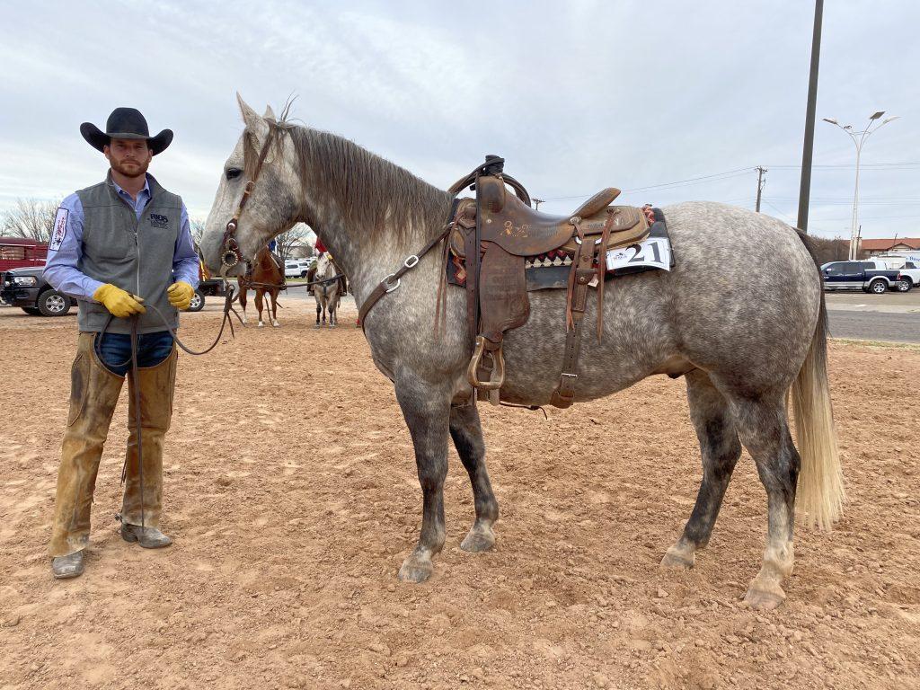 WRCA Top Horse contender Ima Wynna Rab