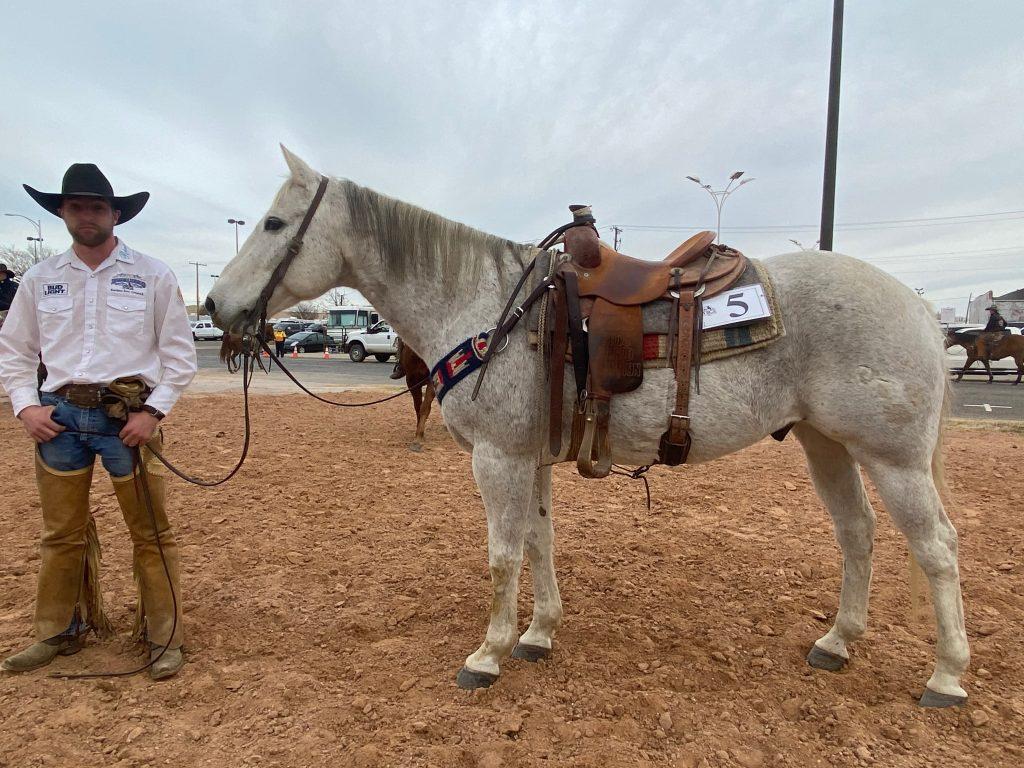 WRCA Top Horse contender Little Tee J Paul
