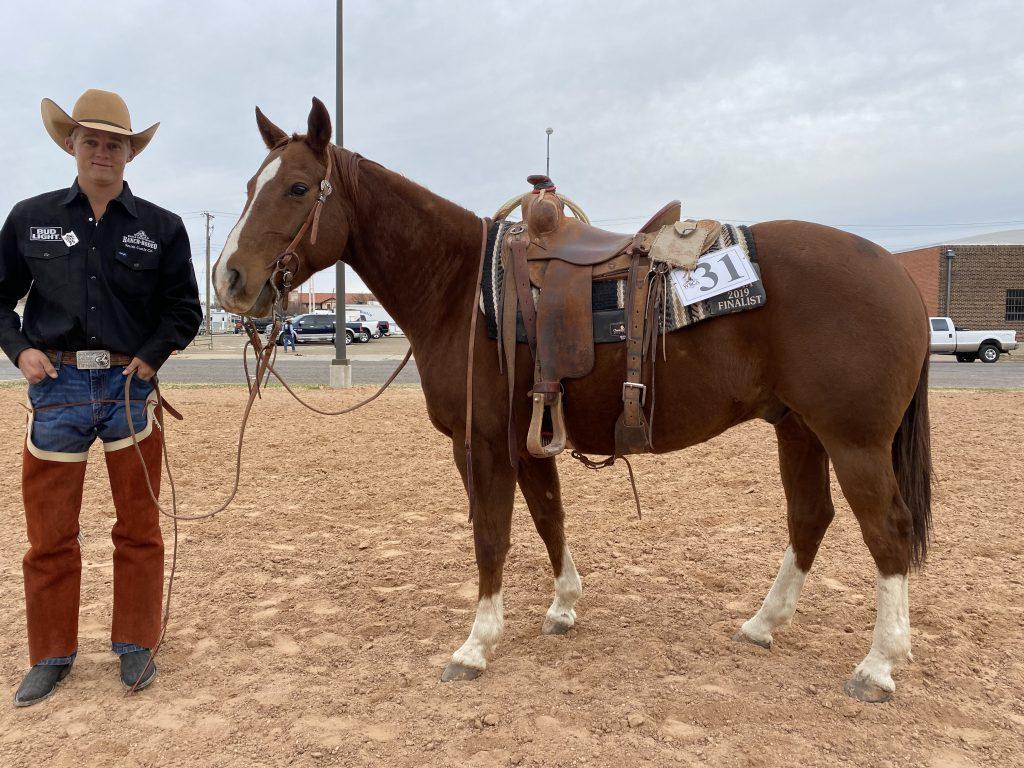 WRCA Top Horse contender Rowdy Metallic