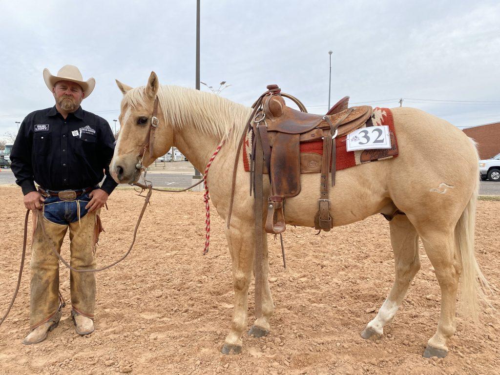 WRCA Top Horse contender Spryo