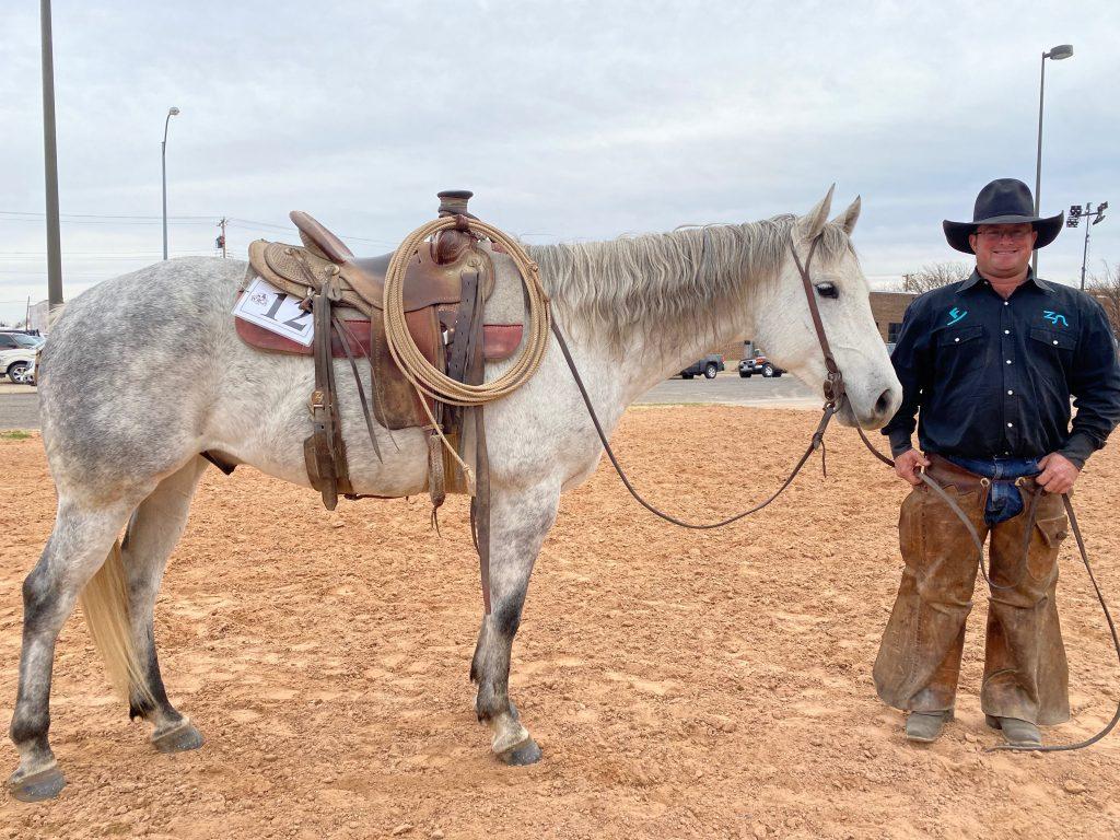 WRCA Top Horse contender Strait Concho