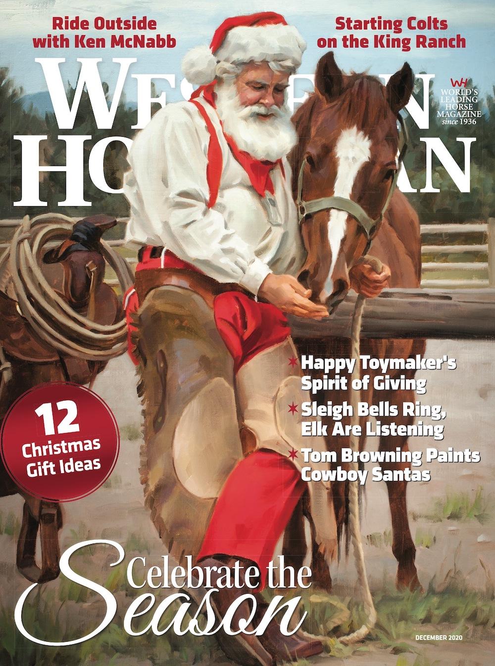 Western Horseman December 2020 cover