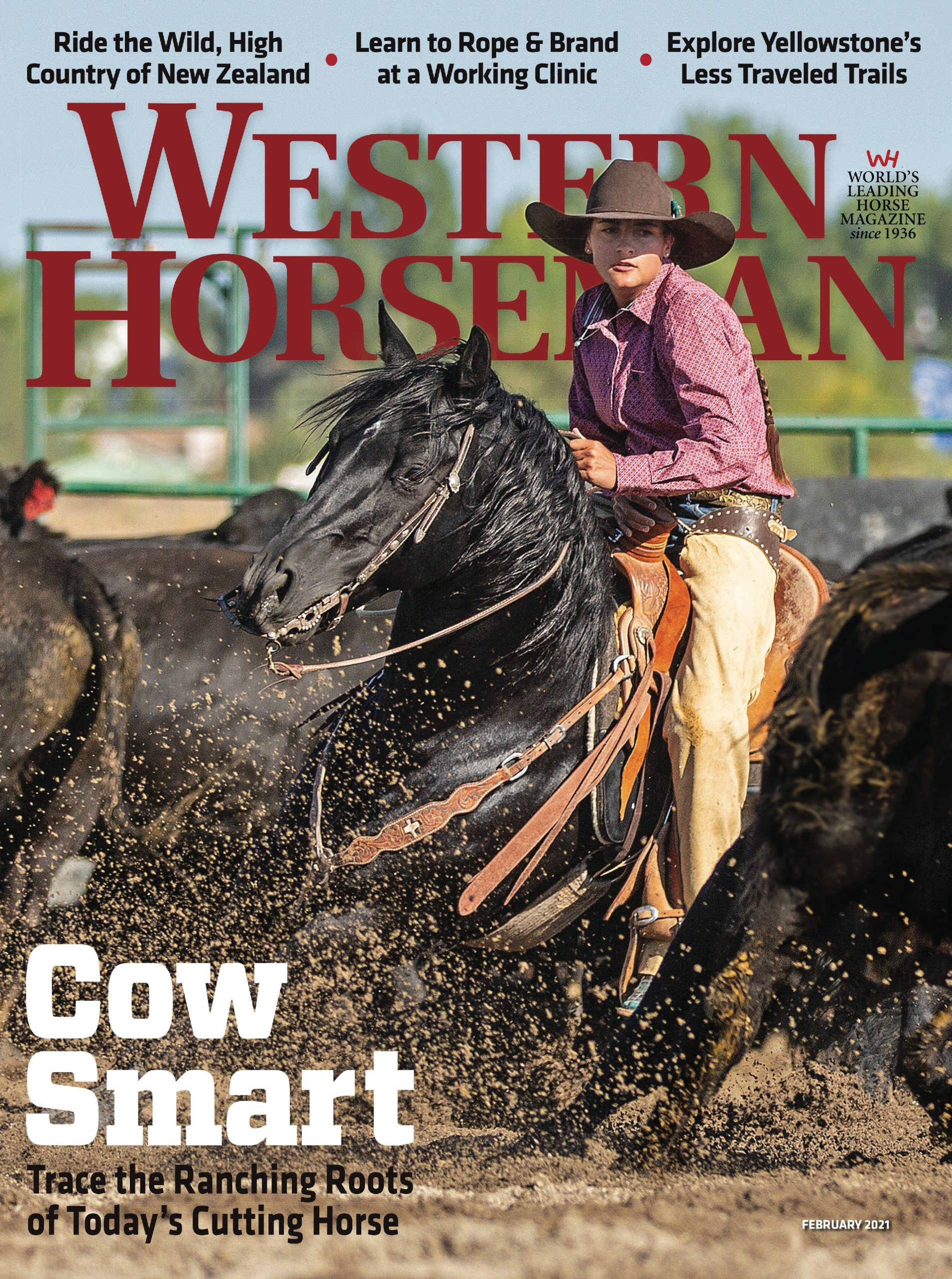 Western Horseman magazine February 2021 cover