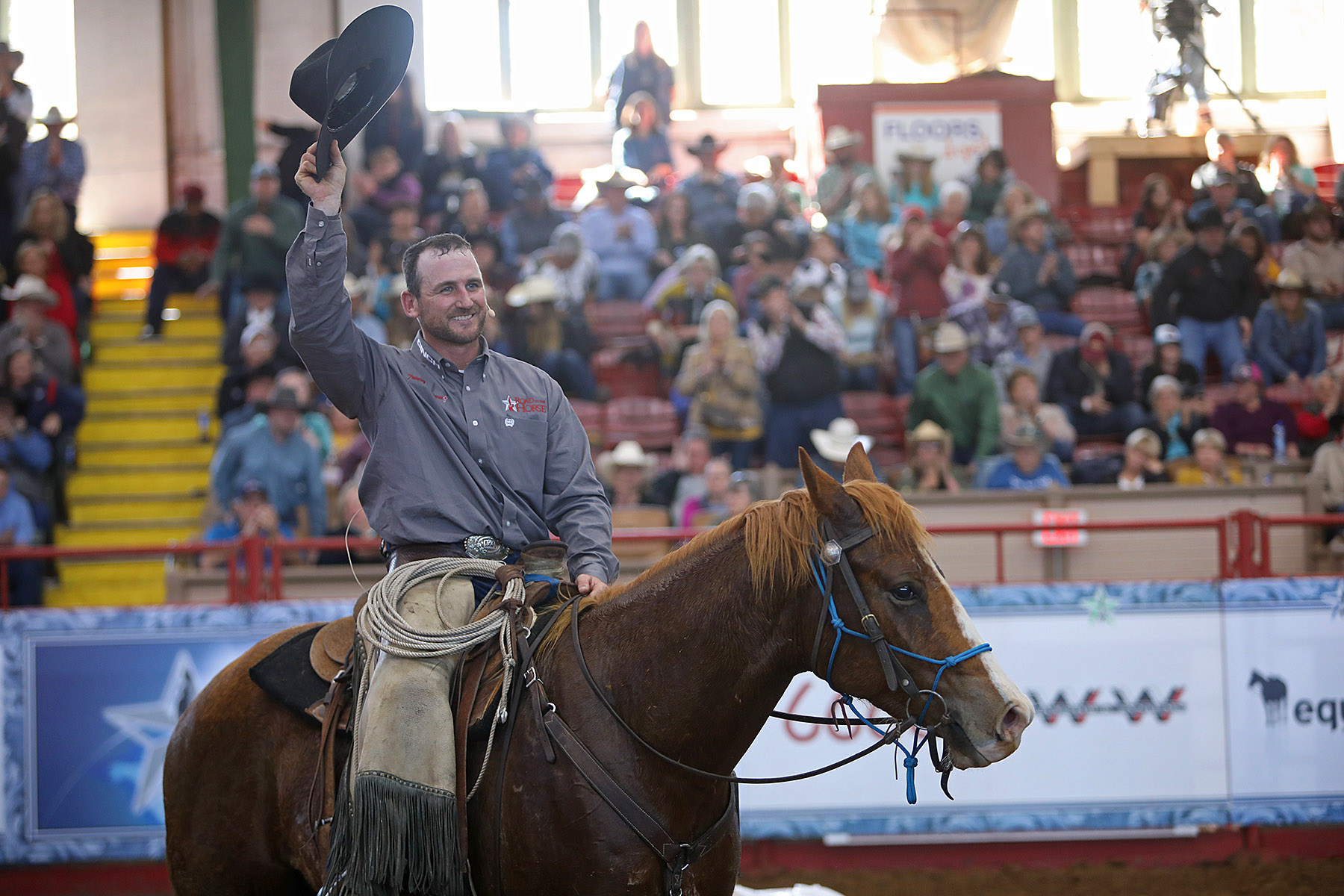 Wade Black wins Road to the Horse.