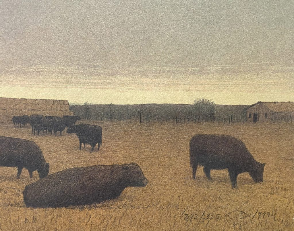 Winter Pasture by Russell Chatham