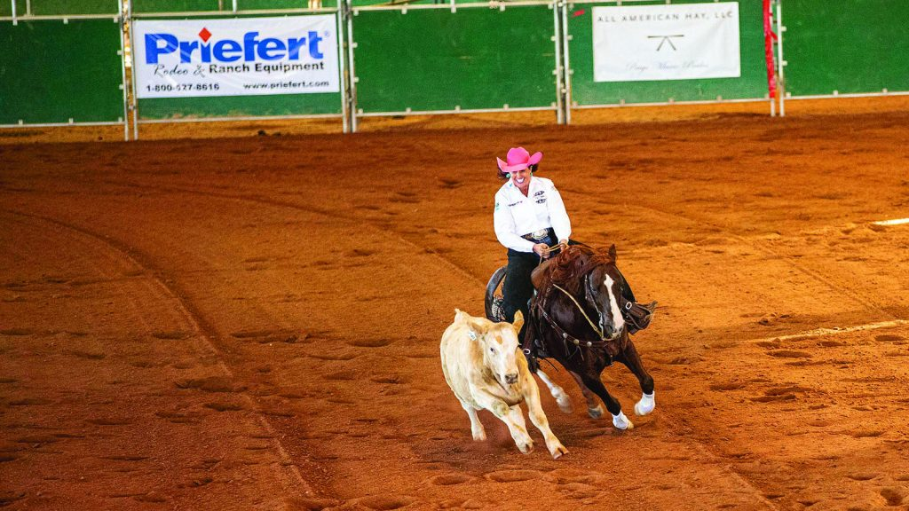 Patty Ralls rides Solano Cat.