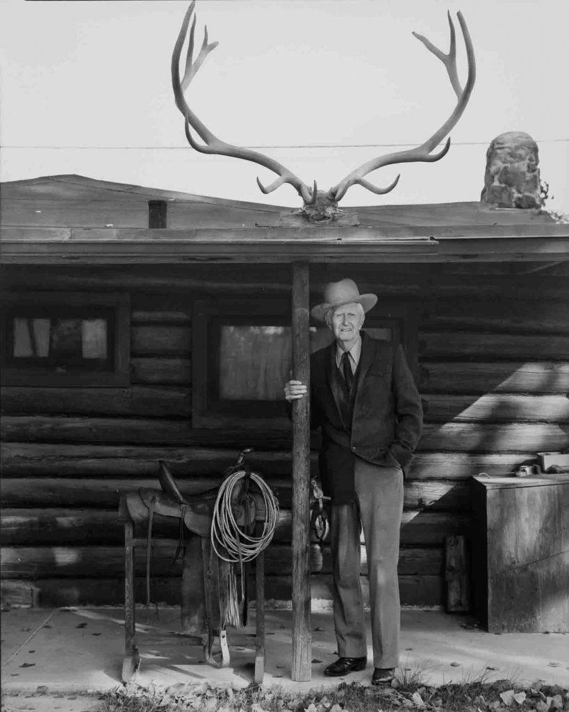 Jay Dusard photographed J.K. Ralston