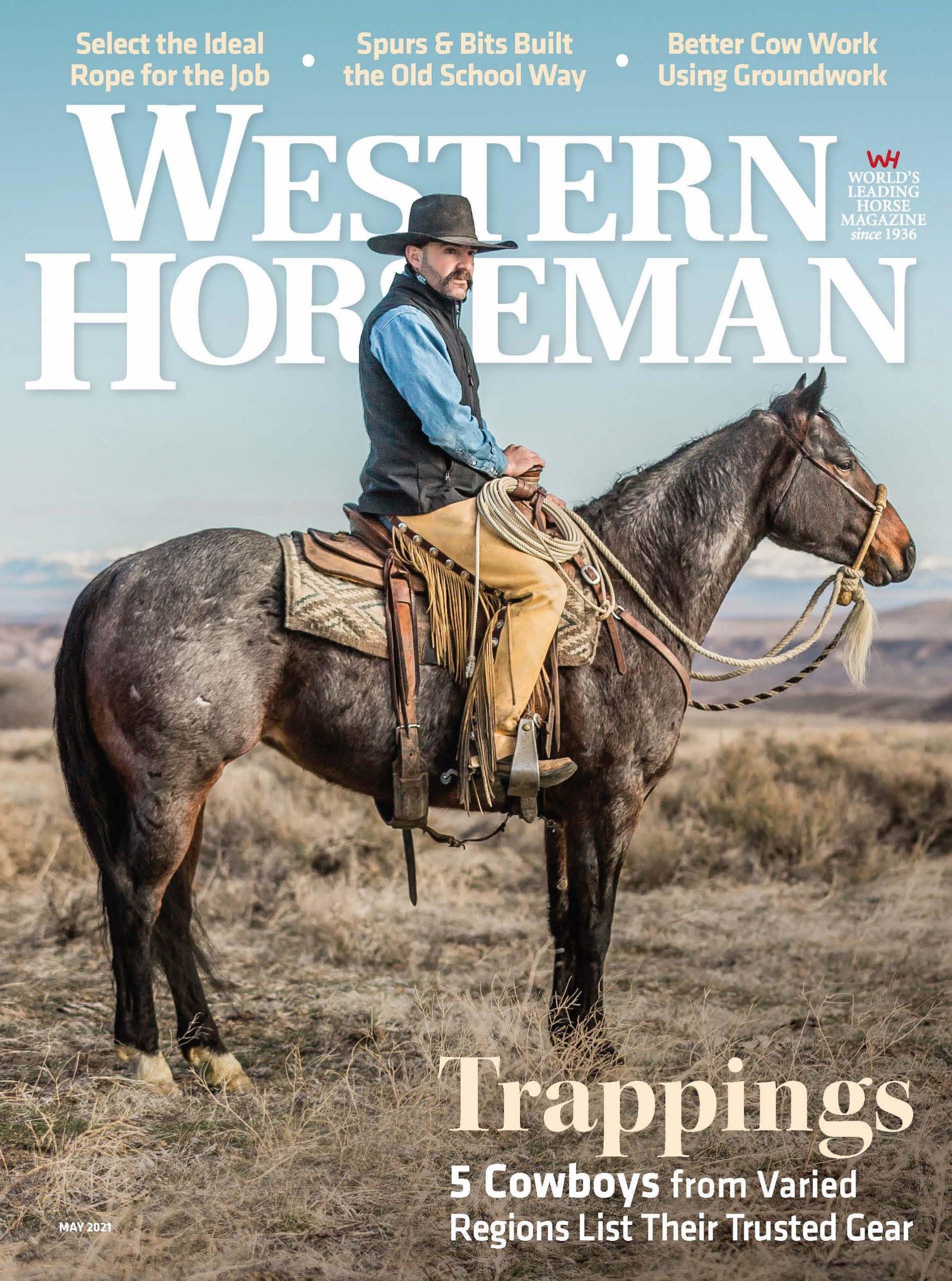 May 2021 Western Horseman Cover