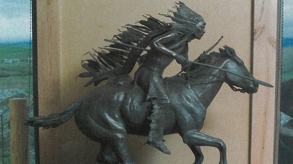 Sculpture by Joe Beeler