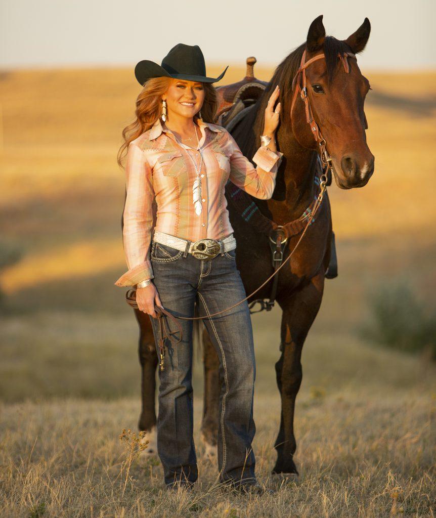 Jordan Tierney serves as Miss Rodeo America