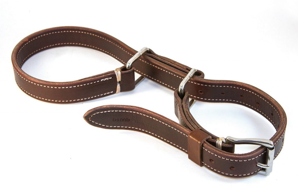 Leather hobbles from DM Tack